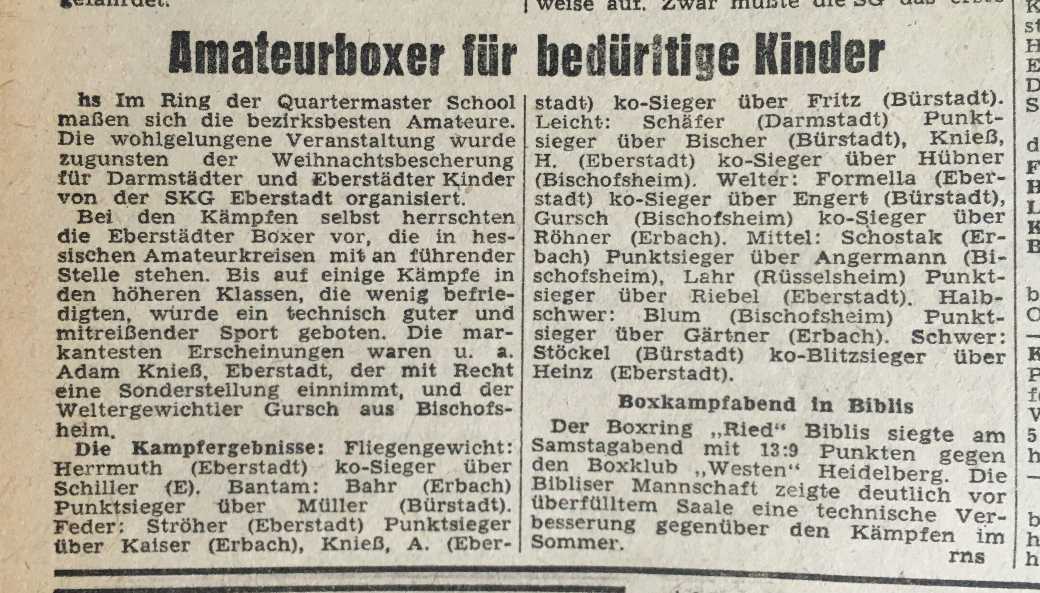 Darmstädter Echo vom 09. Dezember 1947, StadtA DA Bibl. Z 10, 1947